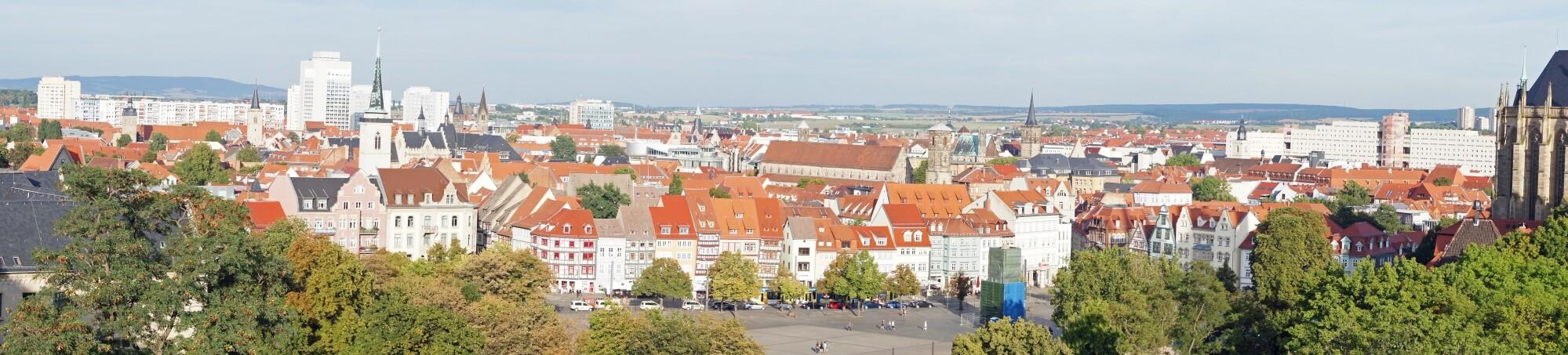 Erfurt Outdoor Panorama