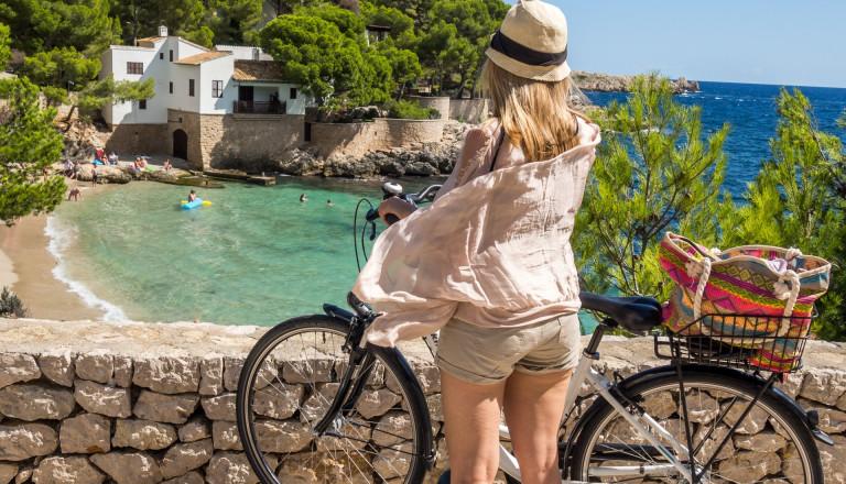 Fahrrad fahren auf Mallorca