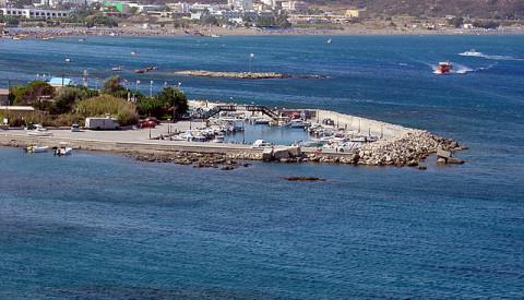 Faliraki ist ein Hot-Spot für Touristen. Rhodos Reisen