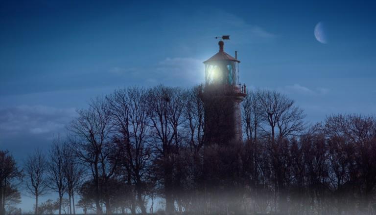 Der Staberhuk Leuchtturm gehörte zu den Motiven von Kirchner.