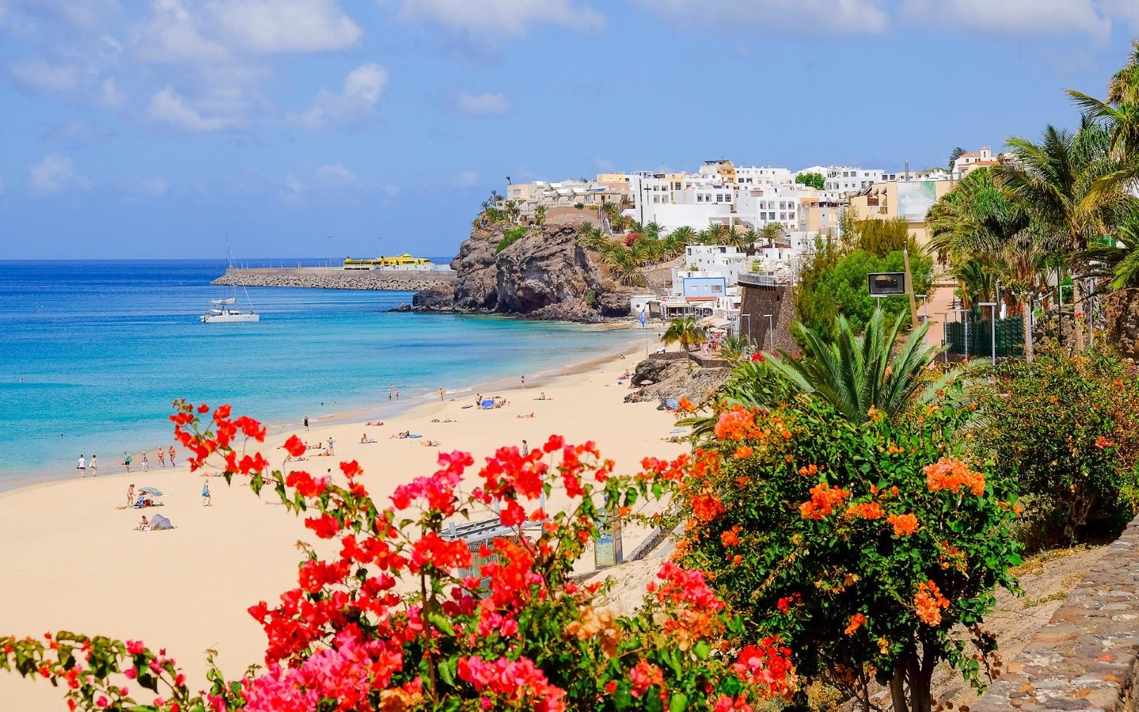 Der Morro Jable auf Fuerteventura, Luxusurlaub.