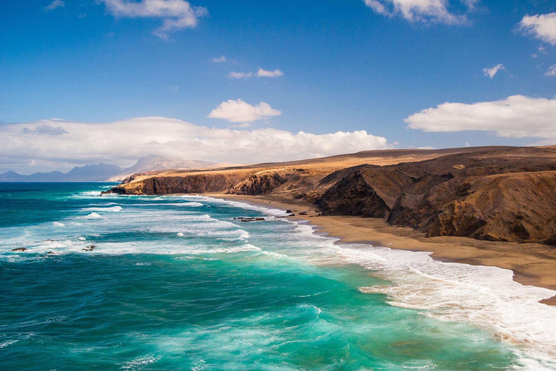 Natur Pared Beach Fuerteventura