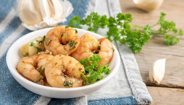 Essen und Reisen Rezepte Garnelen