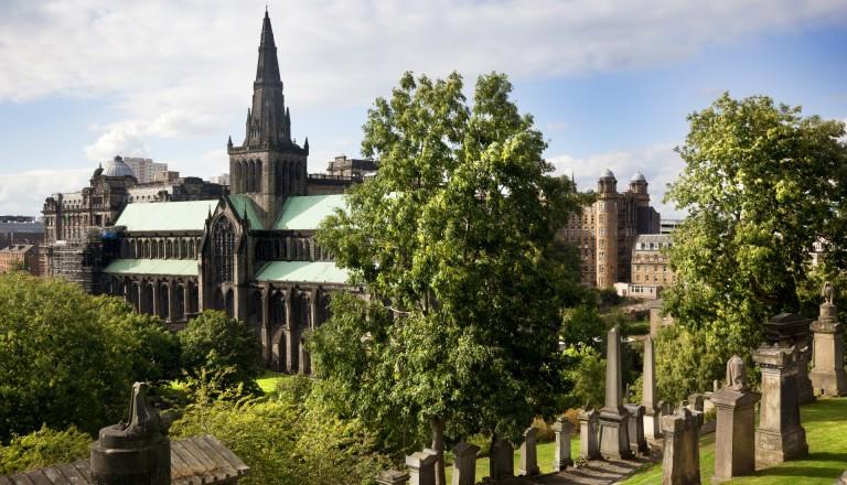 Die Kathedrale von Glasgow.