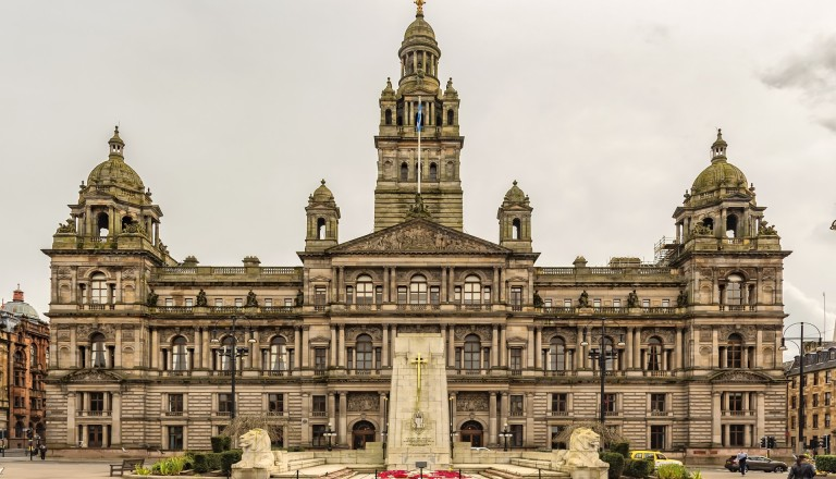 Die Glasgow City Chambers.