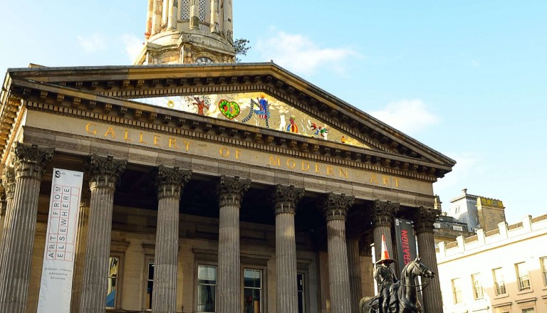 Die Glasgow Gallery of Modern Art.