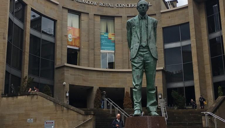 Die Royal Concert Hall in Glasgow.