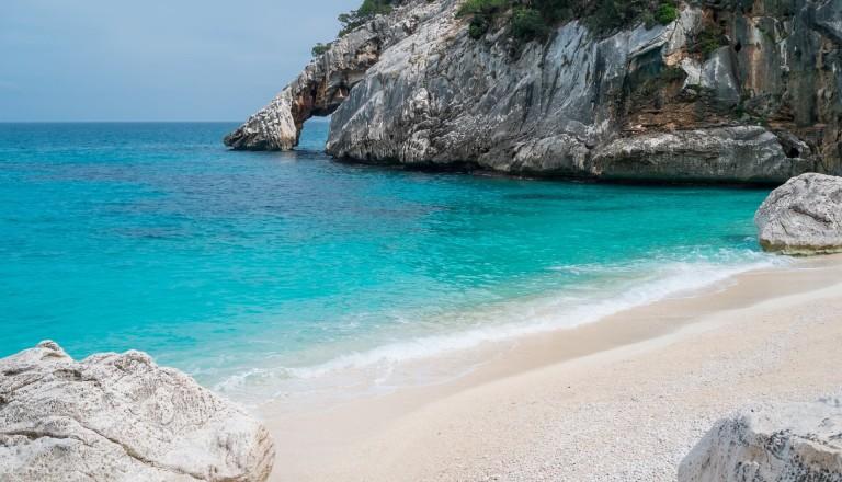 Goloritze Strand Sardinien