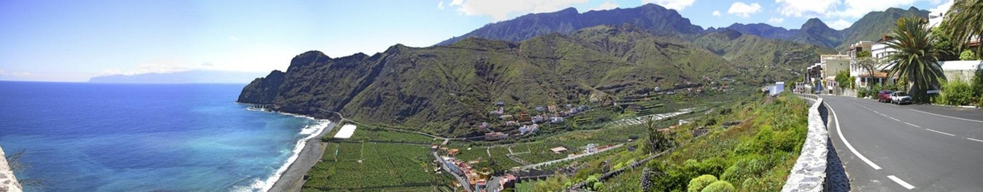 La Gomera Reisen Panorama
