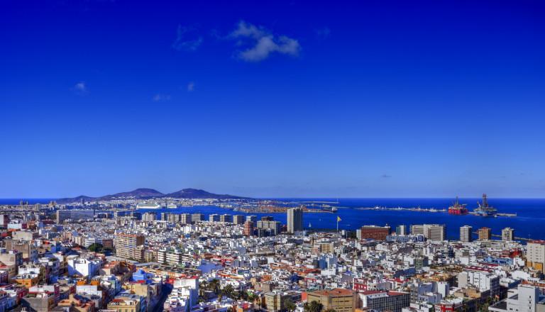 Las Palmas - die Hauptstadt von Gran Canaria.