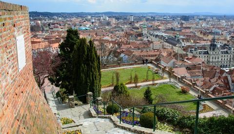 Der Schlossberg in Graz