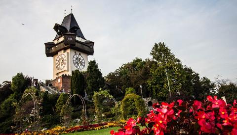 Der Uhrturm von Graz