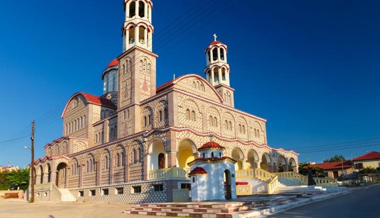 Städtereisen Griechenland Kirche