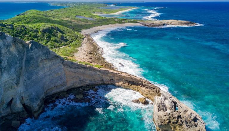 Der Pointe des Colibris auf Guadeloupe.