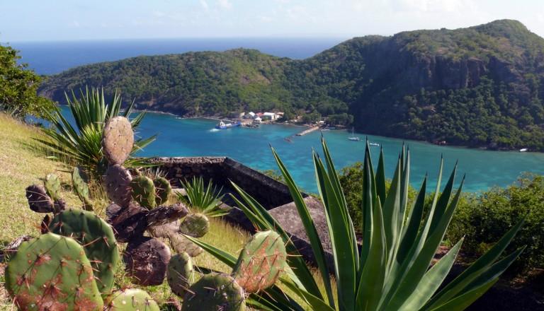Les Saintes auf Guadeloupe.