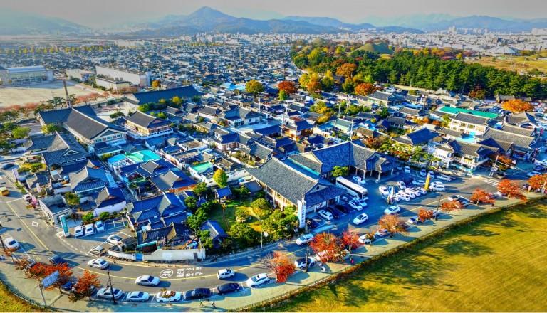 Gyeongju in Südkorea.