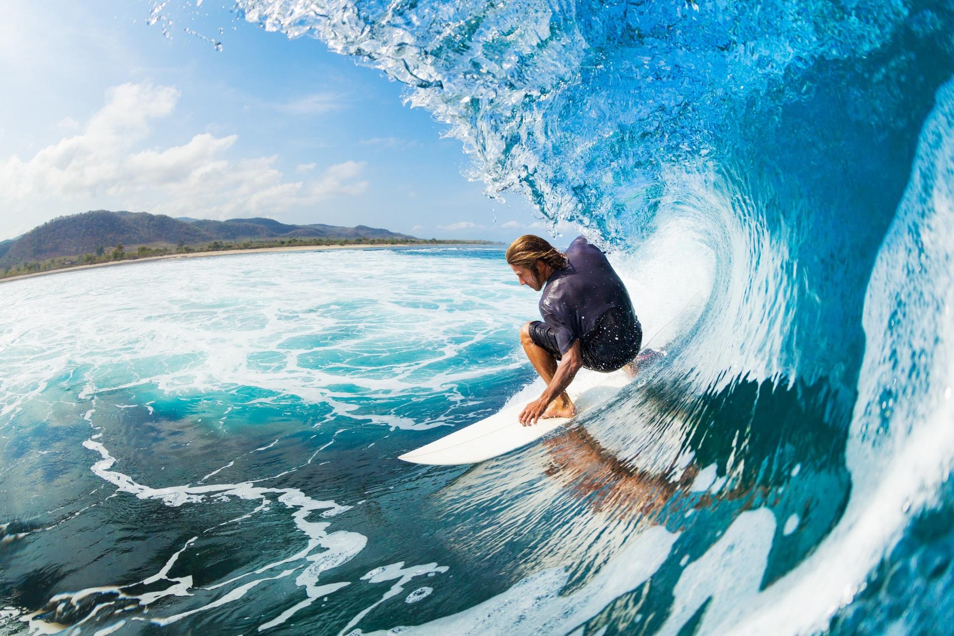 Sport auf Hawaii.