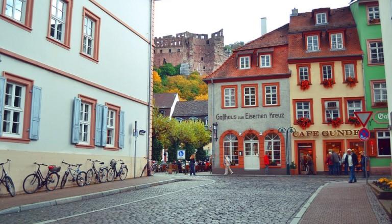 Heidelberg Altstadt Stadtteile