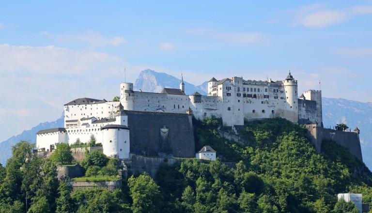 Hohensalzburg Salzburg. Reisen Österreich.