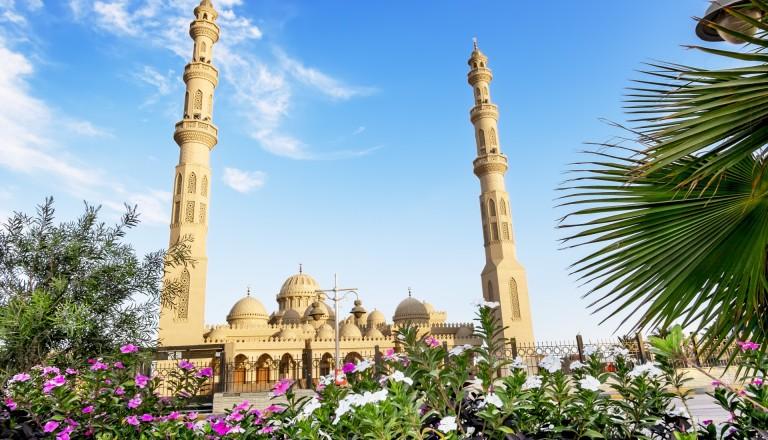 Hurghada Moschee Pauschalreisen Urlaub