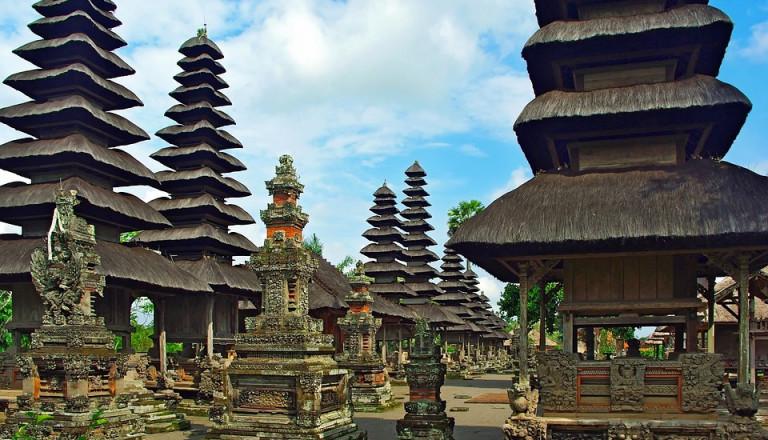 Der Taman Ayun Tempel auf Bali.