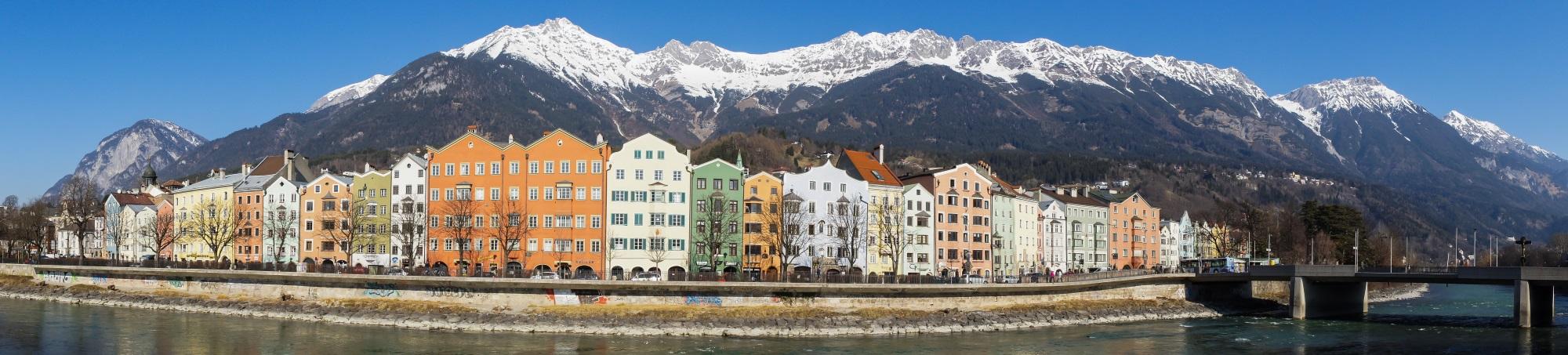 Innsbruck Städtereisen Stadtteile