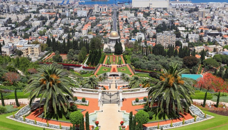 Israel Haifa Bahai Rundreisen