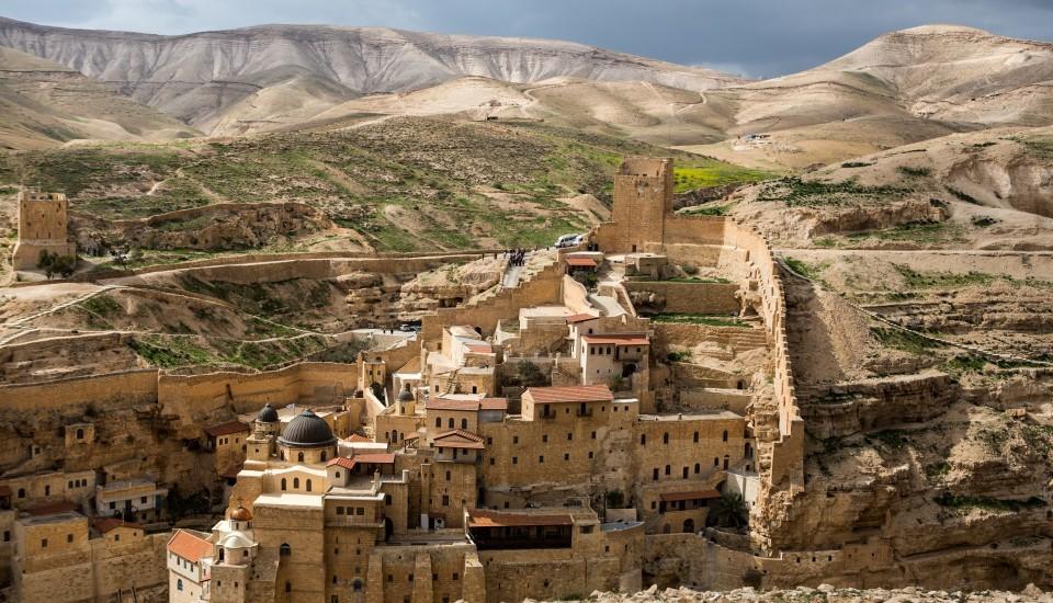 Rundreisen Israel Marsada Kloster