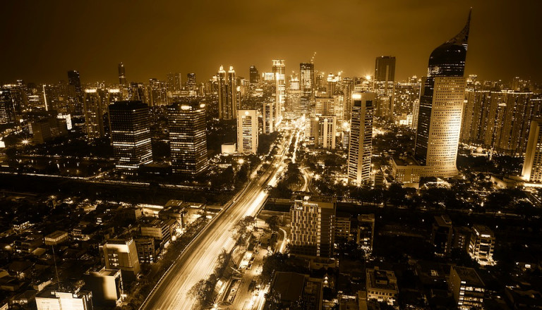 In Indonesiens Hauptstadt Jakarta leben rund 10 Millionen Menschen.