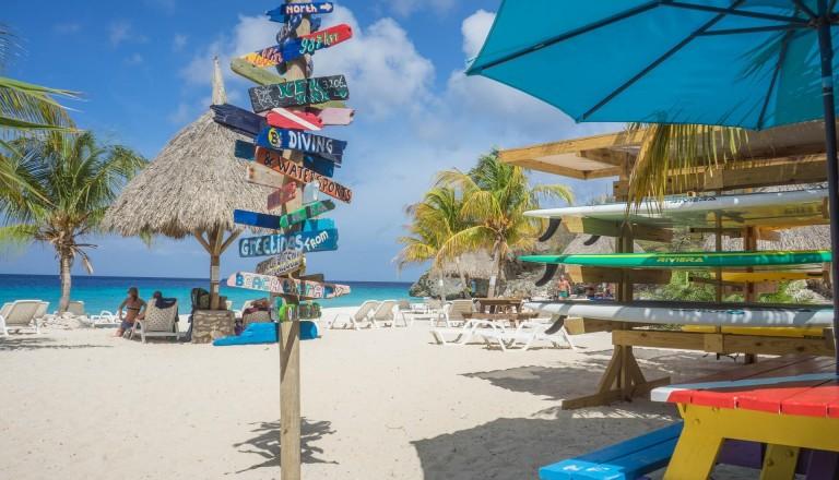 Jan Thiel Beach in Curacao