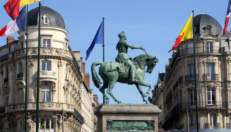 Jeanne d'Arc, Orléans Paris