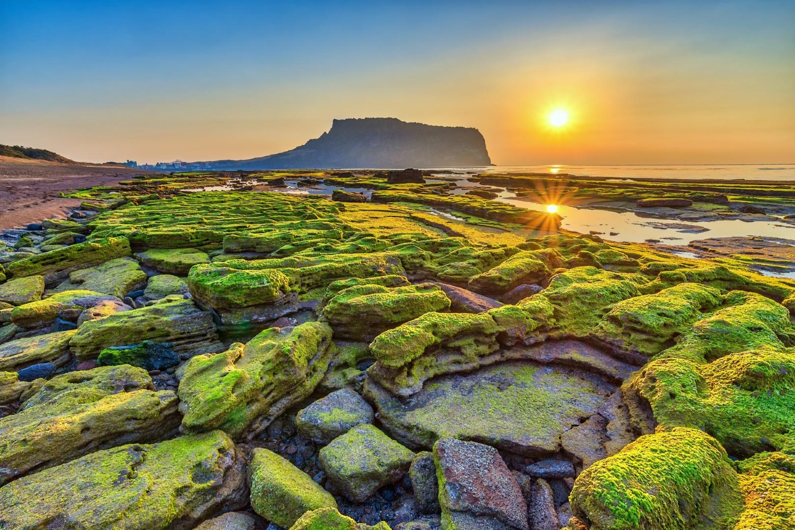 Jeju Island in Südkorea.