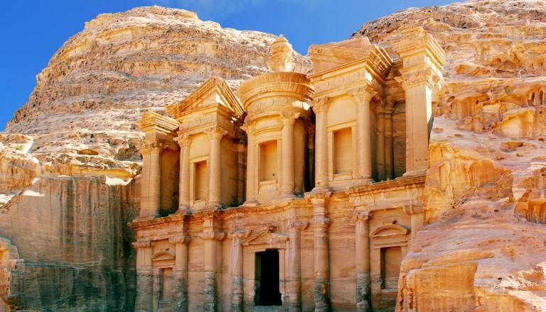 Die Felsenstadt Petra Jordanien