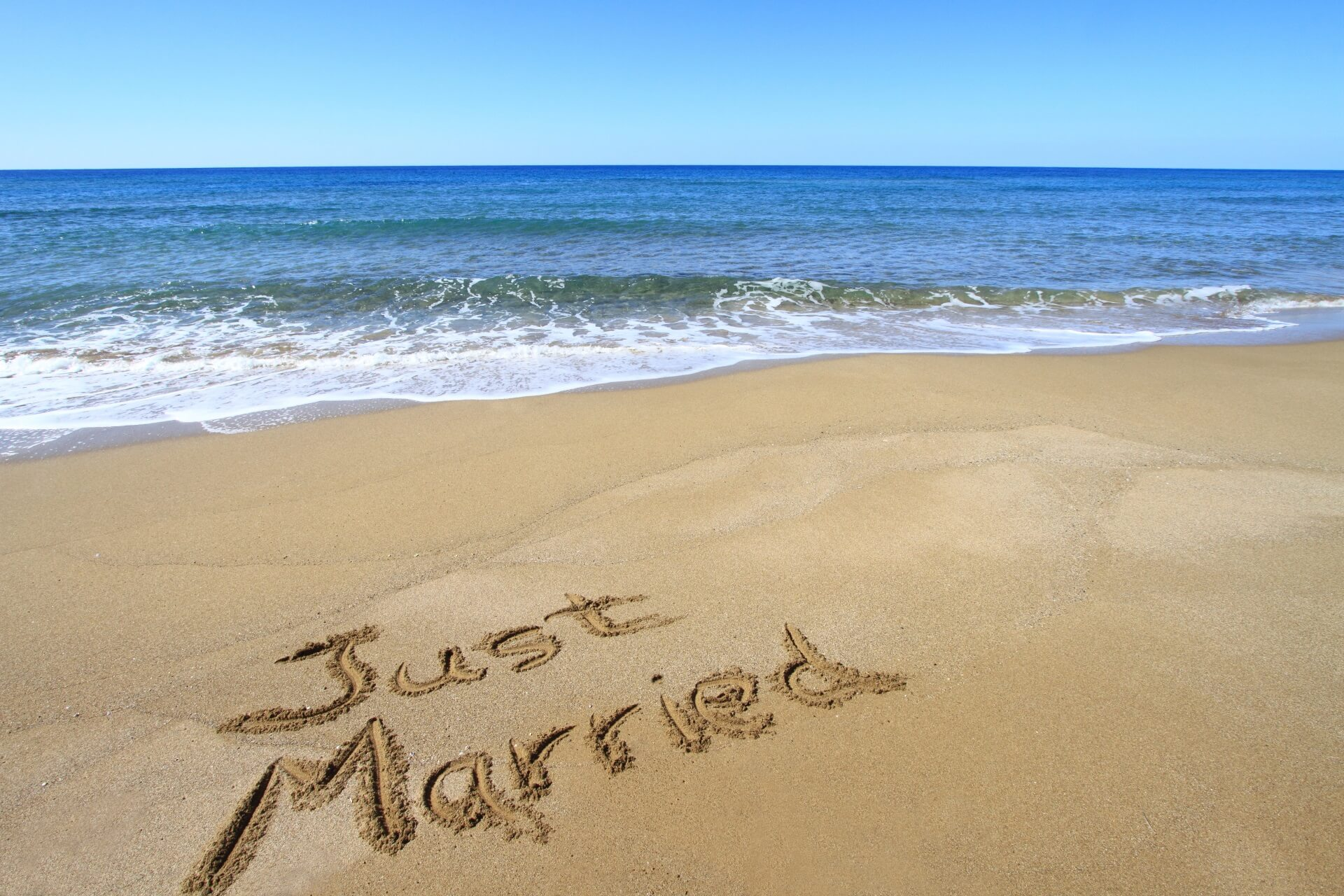 Just Married Strand