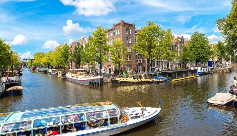 Kanalrundfahrt in Amsterdam