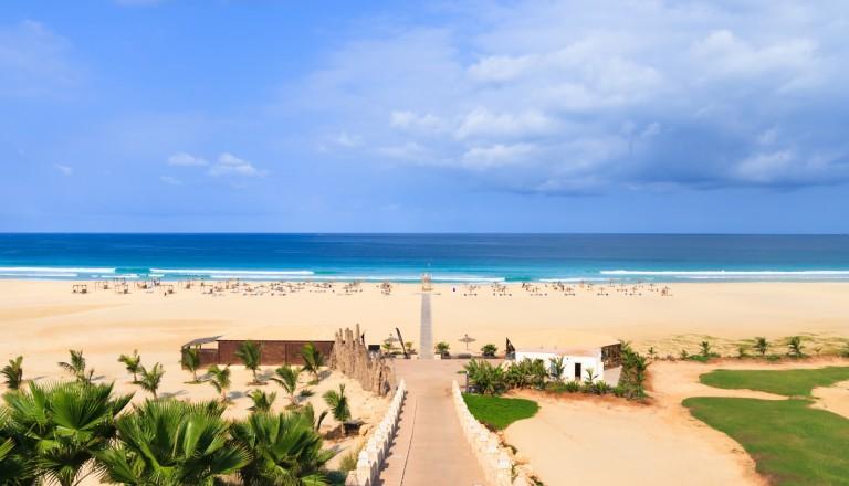 Die Insel Boa Vista auf Kap Verde