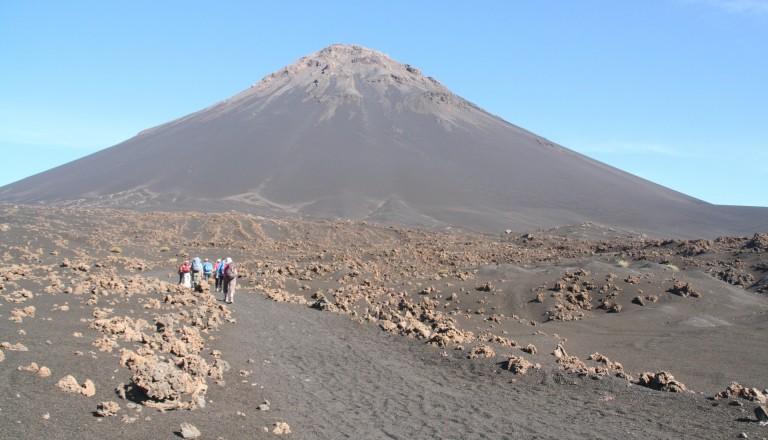 Der Vulkan Pico do Fogo von Kap Verde.