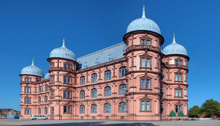 Das Gottesauer Schloss in Karlsruhe