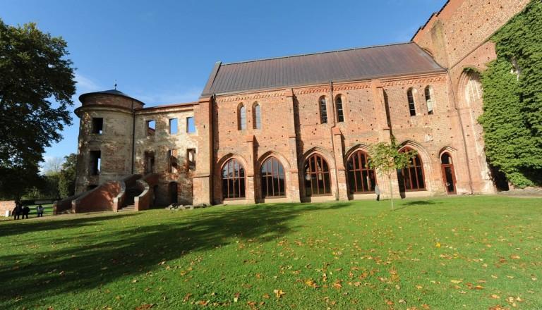 Die Klosterruine Dargun.