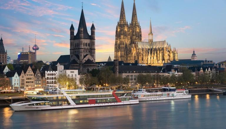 Kreuzfahrt Rhein Köln