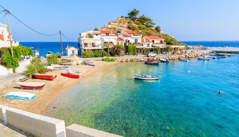 Kokkari auf Samos
