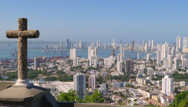 Cartagena de Indias Kolumbien Staedte