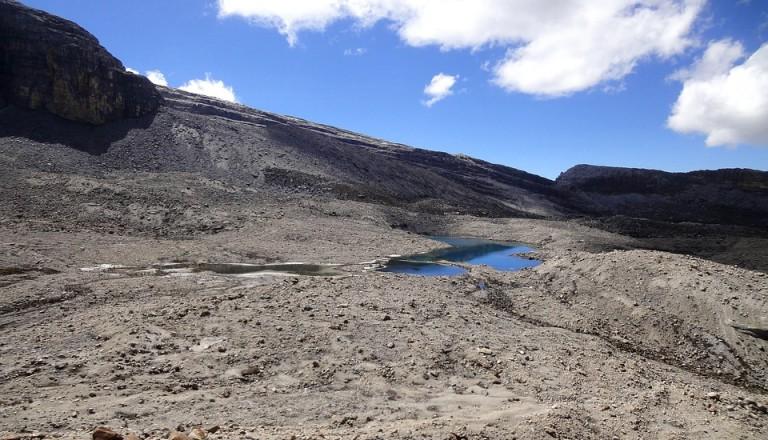 Der Nationalpark El Cocuy in den kolumbianischen Anden.