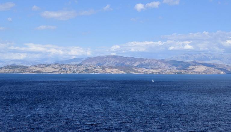korfu griechenland insel meer