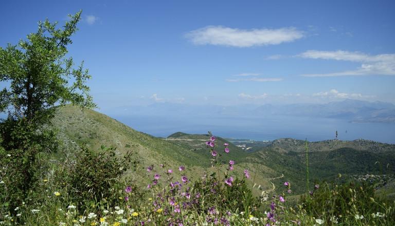 korfu griechenland natur landschaft
