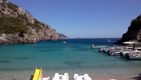 Natürlich laden Korfus Strände zu sportlichen Unternehmungen ein.