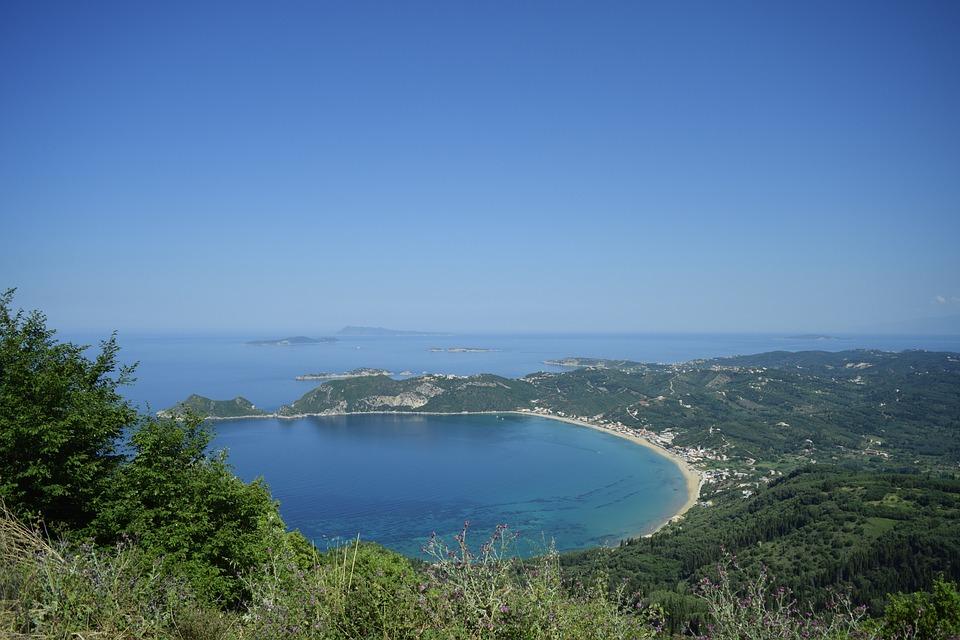 korfu strand meer griechenland