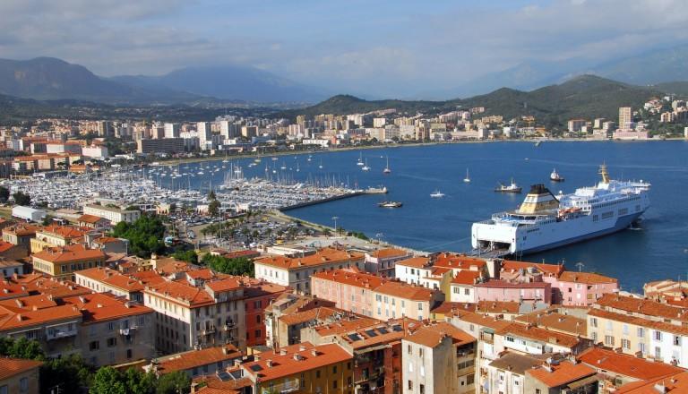 Korsikas Hauptstadt Ajaccio.