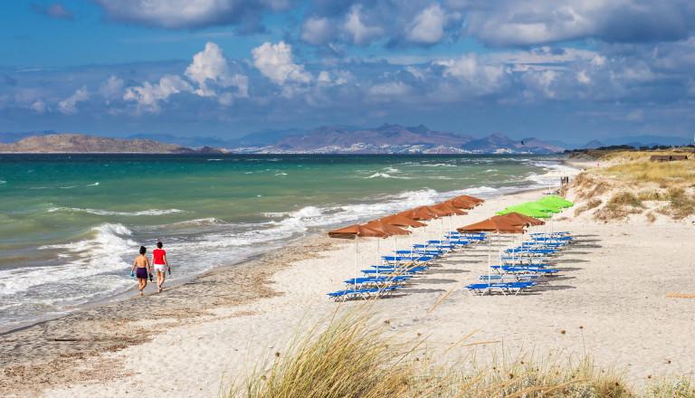 Der Mastichari Beach auf Kos.