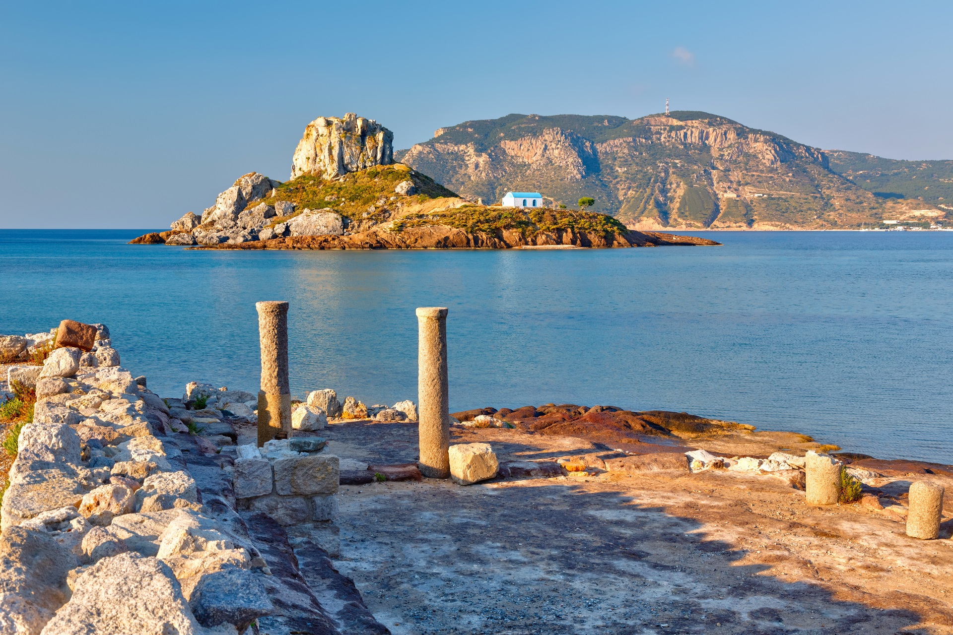 Die Insel Kastri von Kos Last Minute